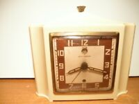 "Vintage 1947 Seth Thomas ""Lee"" Model No. E864-000 alarm clock"