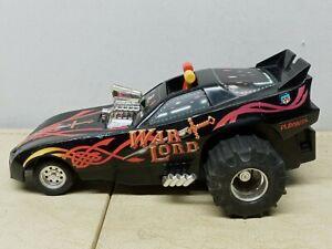 Vintage 1985 Playskool WARLORD Monster Truck Drag Car Toy