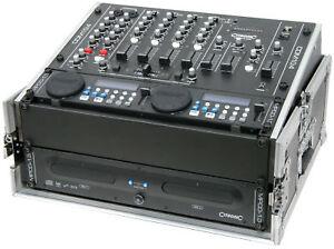 CITRONIC CDM10:4 4 CHANNEL USB MIXER W/ 17 INPUTS, 2 MIC CHANNELS & 3-BAND EQ