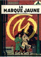 RARE EO 1966 EDGAR PIERRE JACOBS / ÉDITION ORIGINALE PELLICULÉE  LA MARQUE JAUNE