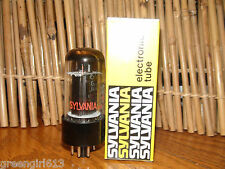 Vintage Sylvania 6V6 GTA Radio  VacuumTube Very Strong Results= 4380 40mA