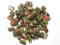 """1 lb Tumbled Unakite .5-1"""" Stones Zentron™ Crystals"""