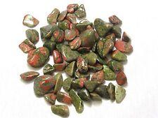 """1/2 lb Tumbled Unakite .5-1"""" Stones Zentron™ Crystals"""