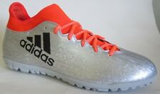 Adidas X 16.3 TF Silver Indoor Soccer Men Shoes 10