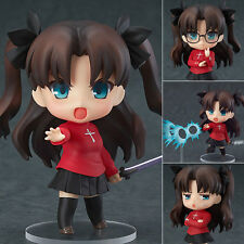 Japanese Anime Fate Stay Night Tohsaka Rin Nendoroid Figure Figurine 10cm No Box