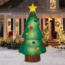 Christmas Tree Inflatable Giant Airblown 10 Ft Outdoor Yard Decor Gemmy