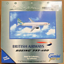 Gemini Jets II GJBAW485 British Air Boeing 737-400 1:400 Scale Die-Cast Airplane