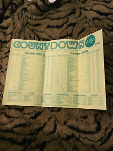 Vintage, Countdown Top Fifty, 1/1984. Chart. Countdown Awards '83. ARIA. Voting
