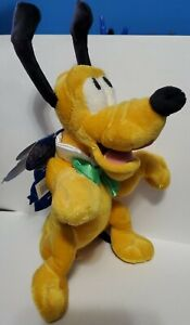 New Disney Happiest Celebration on Earth Pluto Plush - very clean with tags