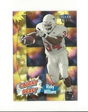 1999 Ultra Caught In The Draft #1 Ricky Williams Rookie Saints