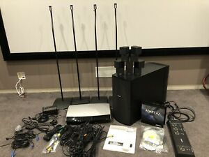 Bose Lifestyle 48 5.1 Surround System 4x Floor Stands Excellent Condition HDMI