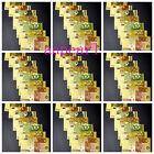 70 Pcs Europe Craft Banknotes Colorful Golden Plastic Foil Paper Money EUR 5-500