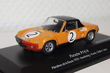 "Porsche 914/6 #2 ""Marathon de la Router 1970"" orange 1:43 Schuco neu & OVP 3699"