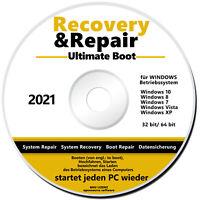 ⚡PC COMPUTER LAPTOP RECOVERY REPAIR FIX FOR WINDOWS 10 8 7 VISTA XP  ⚡