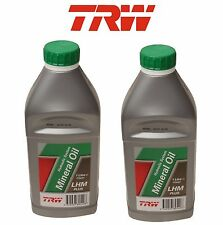 For Jaguar Bentley Rolls-Royce 2 Liters of Hydraulic System Fluid TRW PFM201
