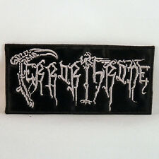 TERROR THRONE Band Logo (Embroidered Small Patch) (NEW)