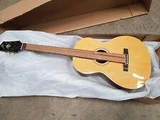 The Loar-216 Natural Finish Quality Parlor-shaped Acoustic Guitar