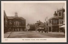 Postcard High Wycombe Buckinghamshire early view The Market Place RP