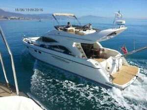 PRINCESS P52 FLYBRIDGE MOTOR YATCH 2013 SPEC BOAT SOUTH SPAIN