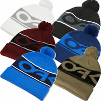 OAKLEY 2018 FACTORY CUFF THERMAL WINTER GOLF / SKI / SNOW BOBBLE BEANIE HAT