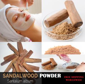 100% Pure Sandalwood Chandan Powder For Beauty Face Masks Acne Premium Quality
