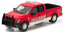 Greenlight 1/64 Fire & Rescue 2015 Ford F-150 Truck HOBBY EXCLUSIVE ISSUE