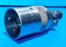 Conector del cable de micrófono CANNON P-3CG12S Vintage Rca op 6 Preamplificador RCA44BX ALTEC 639