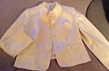 Talbots Light Pink Bow Button Blazer 14 Petite 14P NWT Lined Stretch jacket