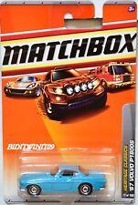 MATCHBOX 2010 HERITAGE CLASSICS '67 VOLVO P1800S #17/100 TORQUOISE W+