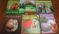 Lot of 6 Children's Books: Bear's Loose Tooth, More Bear Books ALL BEARS!!