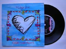 MIDGE URE - Cold Cold Heart / fleurs, arista 114-555 EX+ état 17.8cm