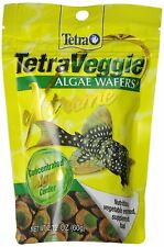 TETRA PRO PLECO WAFERS 2.12 OZ FISH FOOD FOR ALGAE EATERS. FREE SHIP TO THE USA