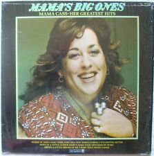 MAMA CASS-Mama's Big Ones-Greatest Hits-1980 Dunhill Stereo LP-DS-50093 VG+