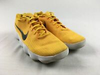 Nike Hyperdunk Low - Yellow/White Basketball Shoes (Men's 14) - Used