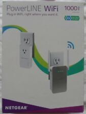 NETGEAR PowerLINE WiFi 1000 PLPW1000-100NAS V2 Access point Wireless Extender