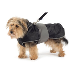 Ancol 2 in 1 Dog Harness Coat - Removeable Fleece Lining, Waterproof, Reflect...