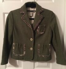 Womens Banana Republic Jacket. Size 4. Wool and cotton.
