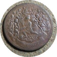 elf India Princely State Ratlam 1 Paisa VS 1947 AD 1890 Thin Restrike 1942-45