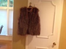 Furs by Raben of Clayton silver fox fur vest see measurement