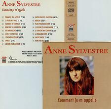 ANNE SYLVESTRE  comment je m'appelle