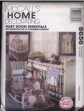 8656 UNCUT McCalls Pattern Baby Infant Bedroom Nursery Head Board Quilt Bag FF