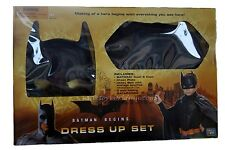 Batman Begins Dress Up Set Cowl and Cape ages 4+