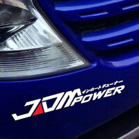 JDM POWER Decal For Honda Mitsubishi Toyota Car Window Bumper Sticker