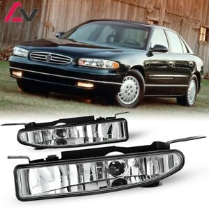 For Buick Regal 97-05 Clear Lens Pair Bumper Fog Light Lamp OE Replacement DOT