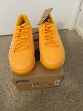 BRAND NEW ASICS TENNIS SHOES SOLUTION SPEED FF 2 AMBER/WHITE 1041A182.800 SIZE 9