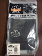 Ergodyne Proflex Wrist Supports LOT OF 5 Large Left Black   #4000