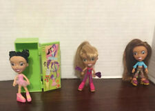 "Rare vintage 2003 hasbro 3.5"" bratz doll Lot accessories locker"
