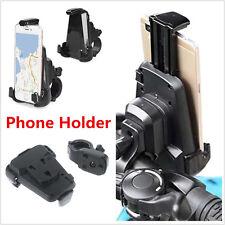 Motorcycle Bike Handlebar Mount Holder Phone Bracket Black ABS For All CellPhone