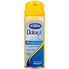 Dr. Scholls Odor-X Odor Fighting Spray Powder 4.7 Oz