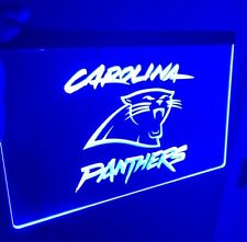 NFL CAROLINA PANTHERS LED Neon Sign for Game Room,Office,Bar,Man Cave, Decor